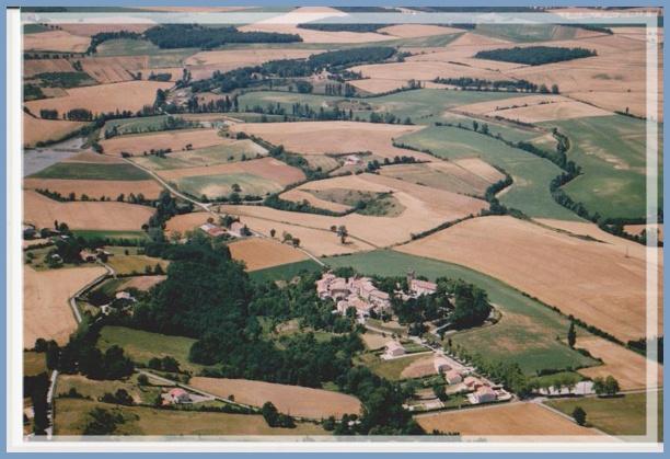 La Pomarède le village en 1989